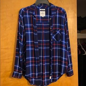 American Eagle size L flannel! Lightly worn.